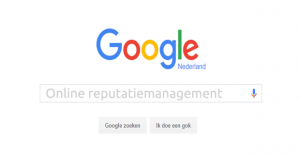 Online reputatiemanagement - Zoekmachine reputatie