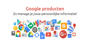 Reputatiemanagement - Google producten persoonlijke informatie beheren