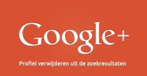 Reputatiemanagement - Google+ profiel verwijderen uit de zoekresultaten