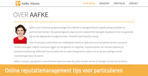 Stappenplan reputatiemanagement particulieren
